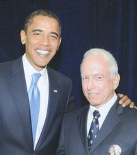 Rich with President Obama