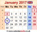 Calendar-january-2017-uk