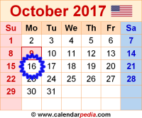 October-2017-calendar